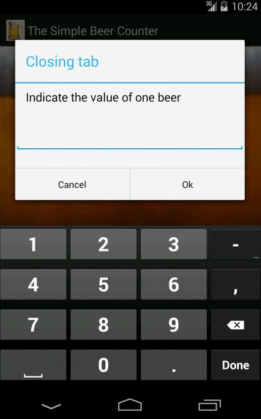 The Simple Beer Counter- screenshot