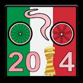 Giro ciclista Italia 2014