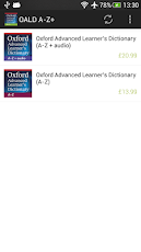 Oxford Advanced Learner's A-Z+ Screenshot 1