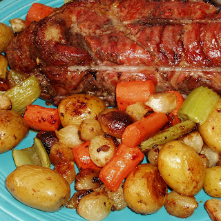 Simple Roast Pork and Vegetables