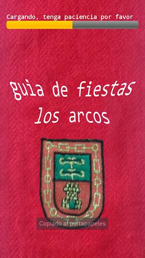 Guia Fiestas Los Arcos 2013