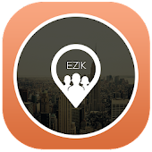 Ezik. Friends on map ANYWHERE!