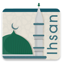 Ihsan - Prayer Times - Qibla icon