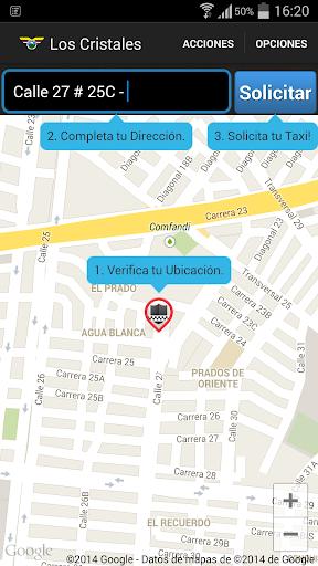 【免費交通運輸App】Los Cristales Taxi-APP點子