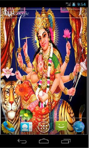 Goddess Durga HD Live Wallpapr 3.3 screenshots 1