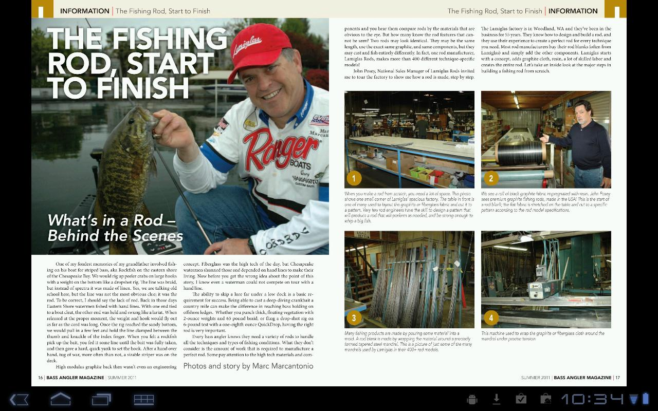 Bass Angler Magazine - screenshot