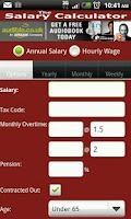 Screenshot of The Salary Calculator
