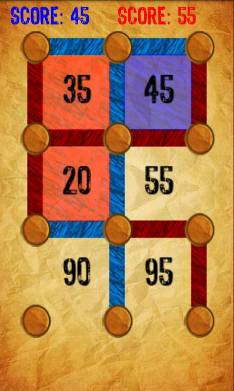 Dots and Boxes - screenshot