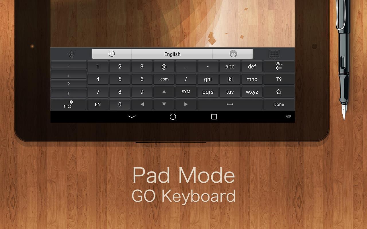 GO Keyboard + Emoji & Emoticon - screenshot