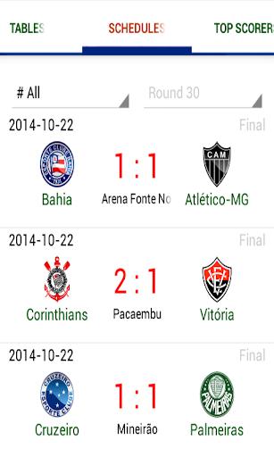 Live Soccer: Brazilian League