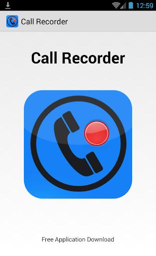 Record Call Recorder