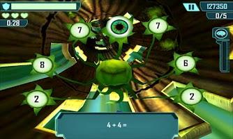 Screenshot of Math Blaster HyperBlast 2 Free