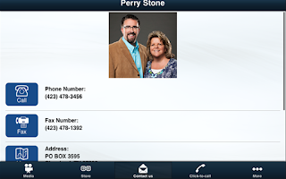 Screenshot of Perry Stone