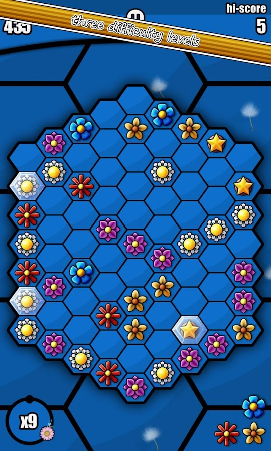 Hexbee- screenshot