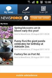 NewsForce - screenshot thumbnail