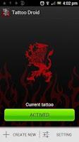 Screenshot of Tattoo Droid