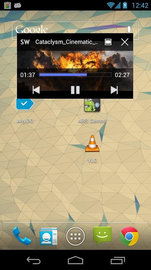 SuperPlayer Video Player (New) - screenshot