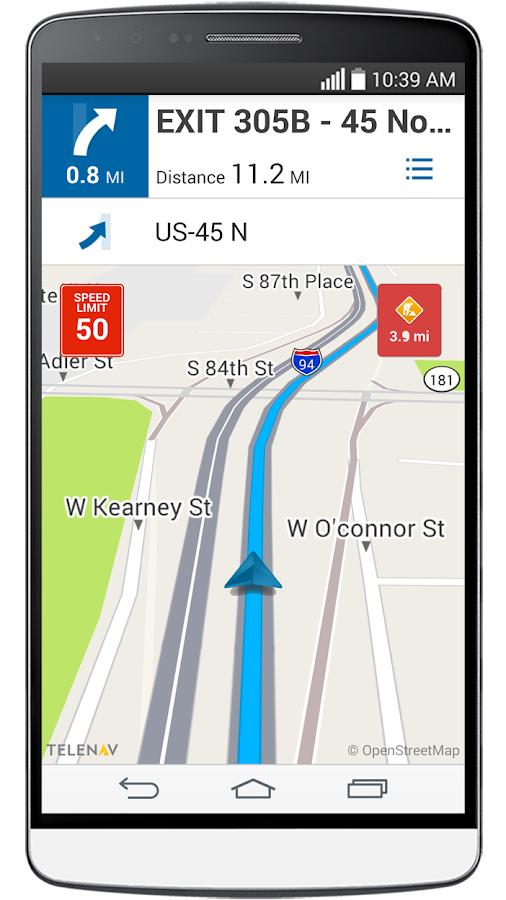 Your Navigator Deluxe: GPS - screenshot