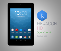 Screenshot of Kutbay - Hexagon Icon Pack
