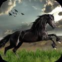 Wild Horses Live Wallpaper icon
