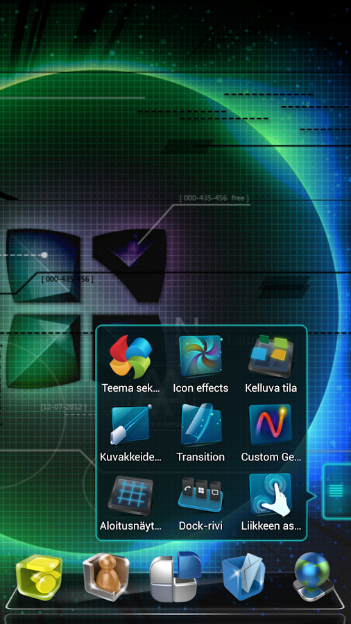 Next Launcher Finnish Langpack - screenshot