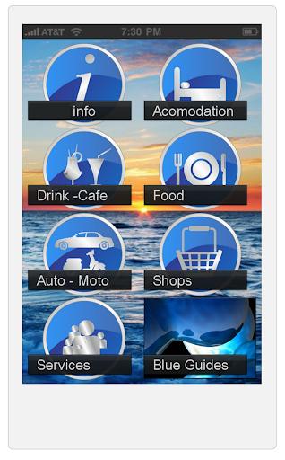 Paros Blue Guides