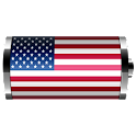 USA: Flag Battery Widget logo