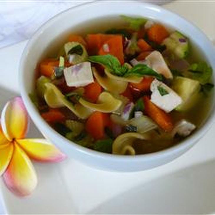 Hearty Chicken Vegetable Soup I Recipe