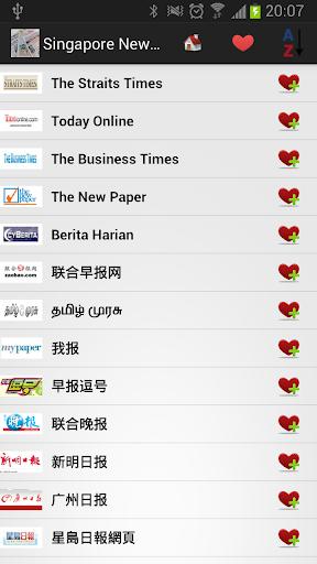 新加坡报纸和新闻