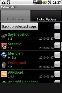 ExUninstall- screenshot thumbnail