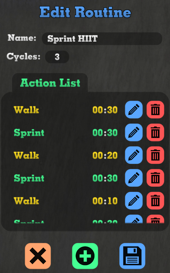 Tabata & Cardio Timer- screenshot