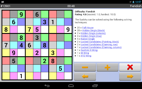 Sudoku 4ever Free - screenshot thumbnail