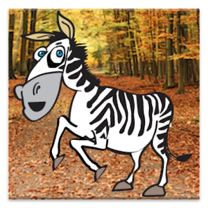 Talking Zebra Icon