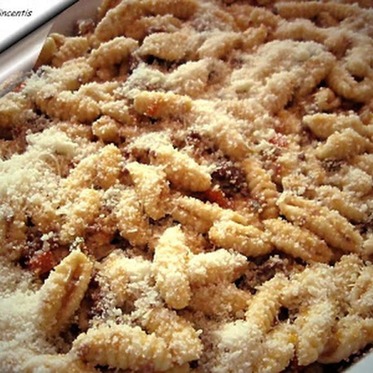 Sardinian Gnocchetti Pasta with Sausage Ragù Recipe