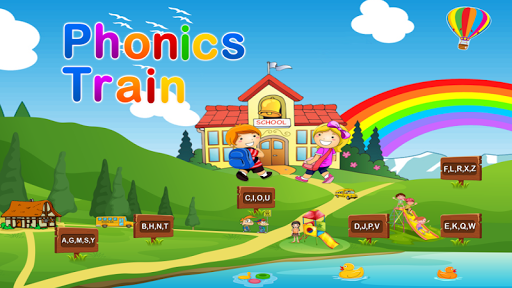 Phonics Train for Toddler Free