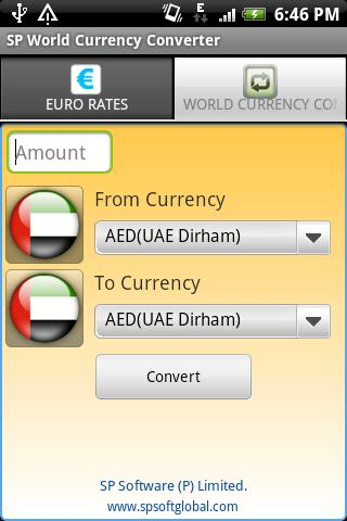 SP World Currencies - screenshot