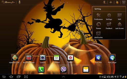 【免費個人化App】Halloween 2 GO Launcher HD Pad-APP點子