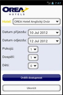 OREA HOTELS - screenshot thumbnail