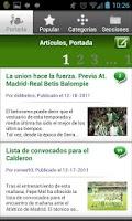 Screenshot of Betisweb
