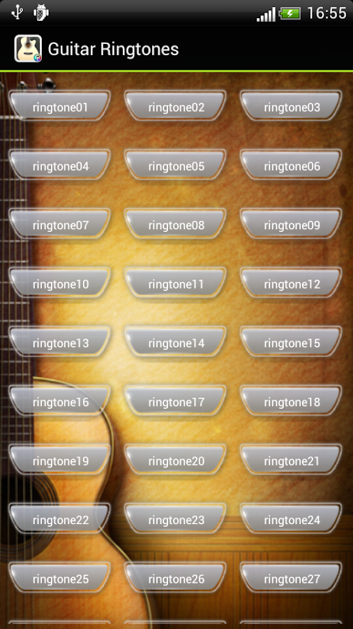 Galaxy S5 Guitar Ringtone - screenshot