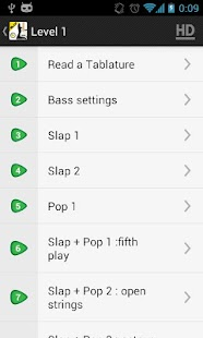 SLAP Bass Lessons VIDEOS LITE- screenshot thumbnail