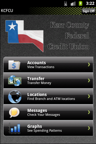 KCFCU Mobile Banking