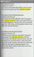 Screenshot of Bible Explorer