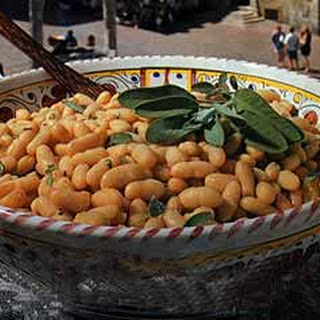 White Beans with Sage and Olive Oil.