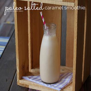 Paleo Salted Caramel Smoothie.