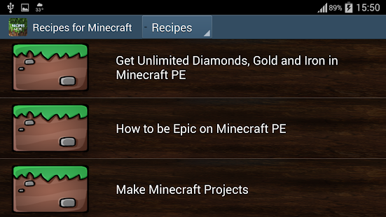 Cheats for Minecraft- screenshot thumbnail