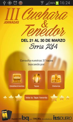 Cuchara y Tenedor Soria 2014