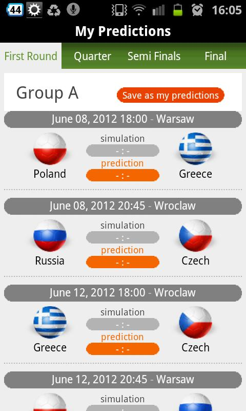 Football Attack Euro 2012 - screenshot