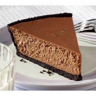 Chocolate Lover's Cheesecake.