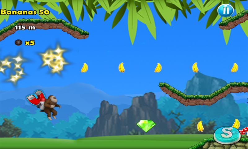 JetPack Kong - screenshot